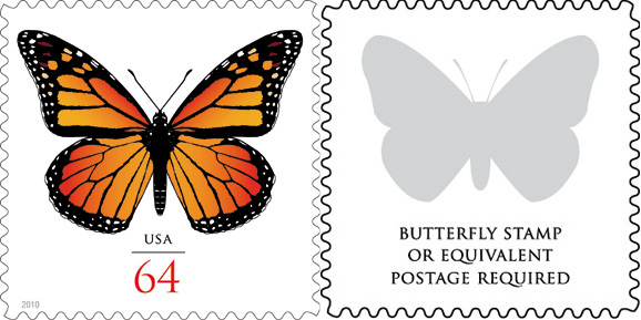 Butterfly Additional Rate Stamp