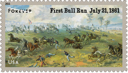 2011 Civil War Stamp - First Bull Runn July 21, 1861