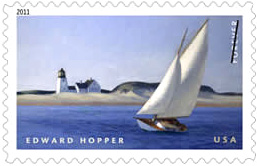 2011 Edward Hopper Forever Stamp