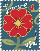 2011 Garden of Love Forever Stamp
