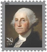 20 cent George Washington Stamp