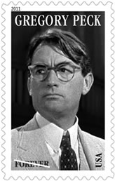 2011 Gregory Peck Forever Stamp