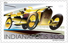 2011 Indianapolis 500 Forever Stamp