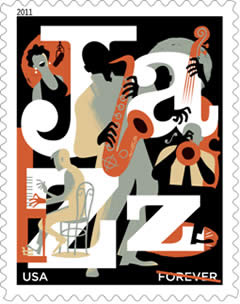 2011 Jazz Appreciation  Forever Stamp