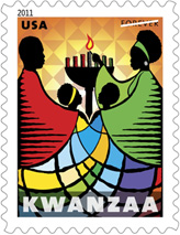 2011 Kwanza Forever Stamp