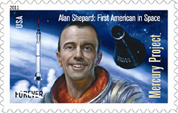 2011 Mercury Messenger Forever Stamp