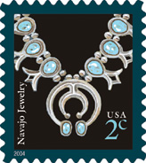 2011 Navajo Jewelry Stamp