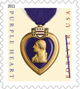 2011 Purple Heart Forever Stamp