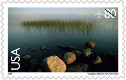 2011 Voyageurs National Park Stamp