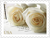 2011 Wedding Roses Forever Stamp