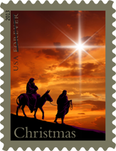 Holy Family Christmas Stamp, 2013