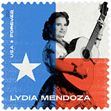 Lydia Mendoza Stamp 2013, Music Icons