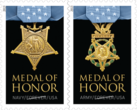 Medal of Honor Stamps 2013