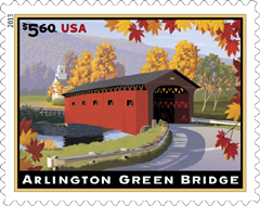 Arlington Green Bridge Stamp, 2013