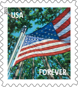 A Flag for all Seasons Forever Stamp