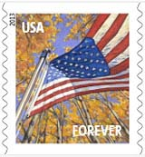 A Flag for all Seasons stamp, 2013