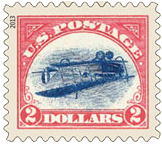 Inverted Jenny Stamp, 2013