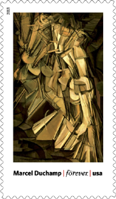 Marcel Duchamp, Figure 5 in Gold Stamp, 2013