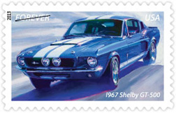 1967 Shelby GT-500 Stamp, 2013
