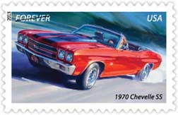 1970 Chevelle SS Stamp, 2013