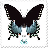 Spicebush Swallowtail Stamp, 2013 - Butterfly Stamp