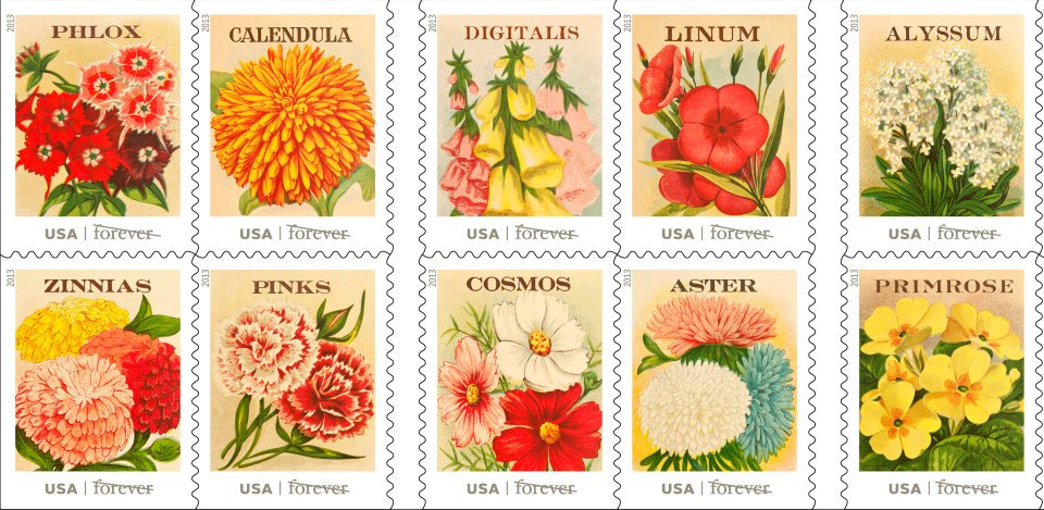 USPS New Issues 2013 (Stamp News Now)