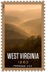 West Virginia Statehood Stamp, 2013