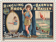 Circus: Vintage Posters Forever Stamp, 2014