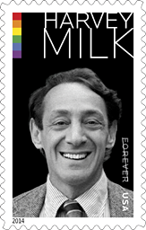 Harvey Milk Stamp, 2014
