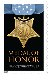 Medal of Honor Stamp Korean War USPS 2014