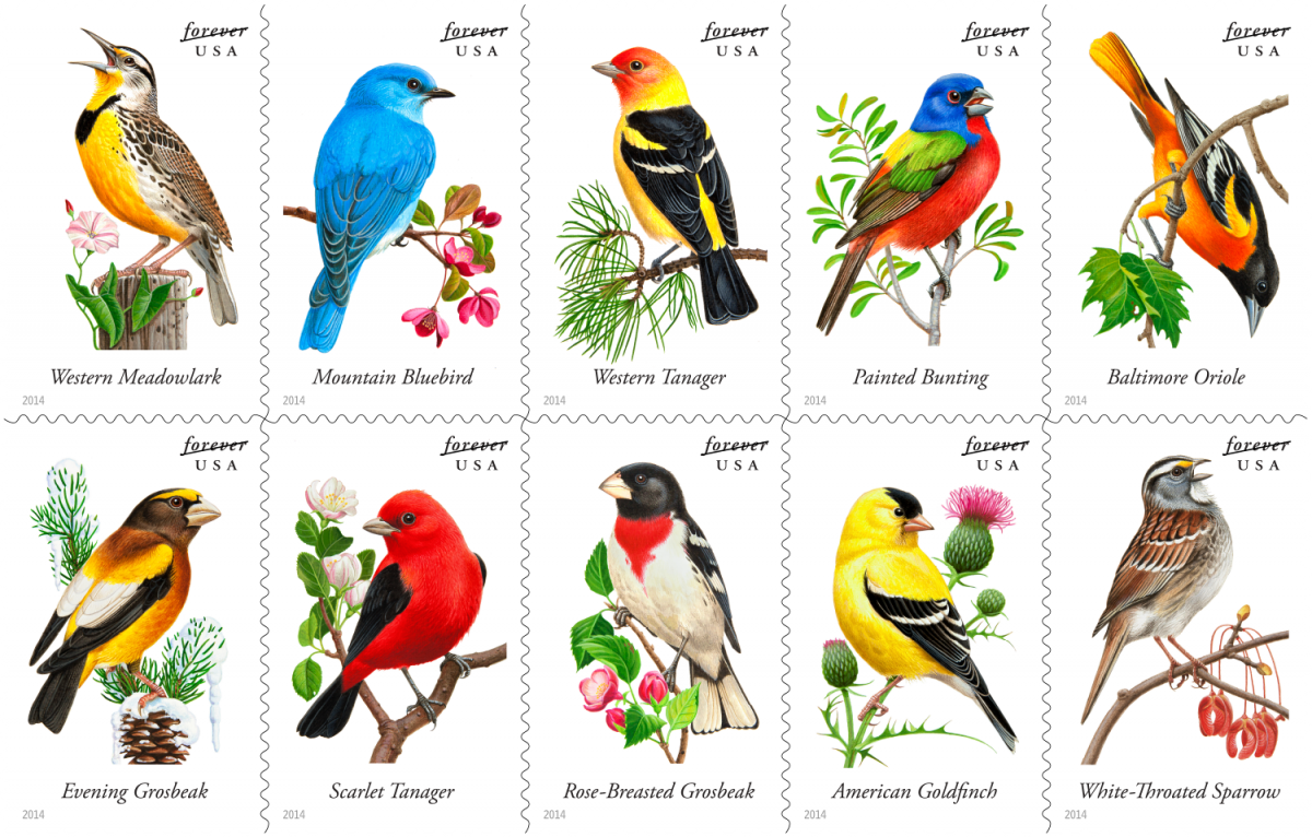 Postage stamps 2014
