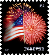 Star Spangled Banner Stamp, 2014
