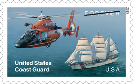United States Coast Guard Forever Stamp 2015