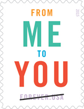 From Me To You Forever Stamp 2015