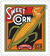 Summer Harvest Stamp 2015, Sweet Corn Forever Stamp 2015