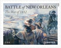 Battle of New Orleans Forever Stamp 2015
