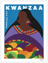 USPS Kwanzaa Forever Stamp 2016