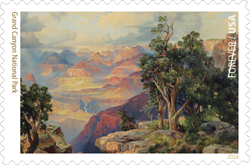 USPS 2016 Grand Canyon National Park Stamp