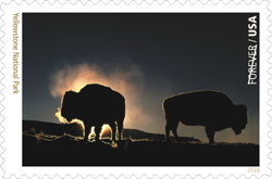 USPS 2016 Yellowstone National Park Stamp