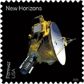 USPS Pluto Forever Stamp 2016