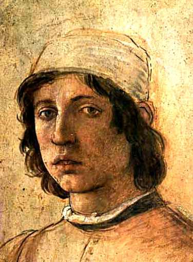 Self-portrait of Filippo Lippi