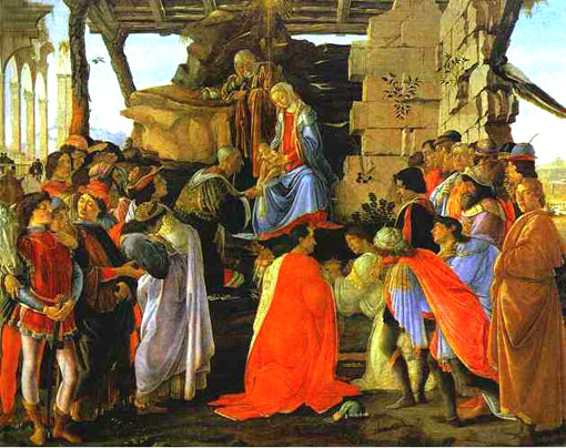 Adoration of the Magi by Sandro Botticelli