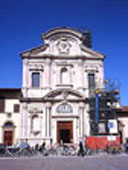 Photo of the Florentine Church of the Ognissanti