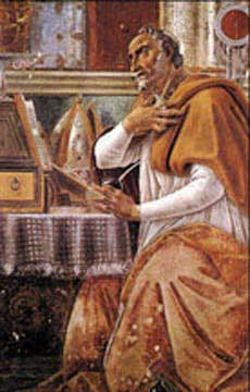 St. Augustine in His Study by Sandro Botticelli