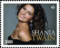 Canada Post - Shania Twain Stamp 2014