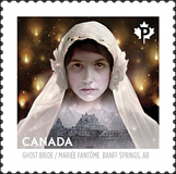 Haunted Canada Ghost Bride Stamp 2014