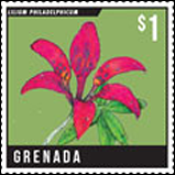 Grenada - Blossoms and Plants Stamps issues 2014