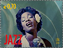 United Nations Jazz Stamp (Vienna)