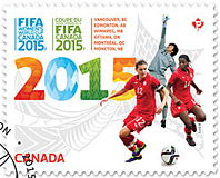 Canada Post's FIFA Women's Word Cup Stamp 2015