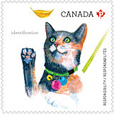 Canada Post's Love Your Pet Stamp 2015